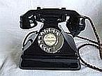 Black Bakelite 328L Telephone